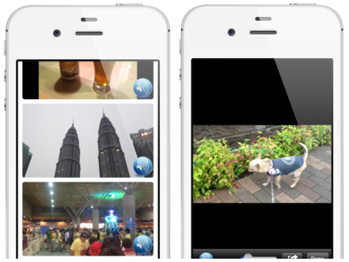 iPhoneで撮った動画は「iFodio」アプリで一斉再生すると感動すら覚える