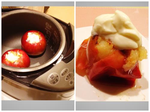焼きりんごを炊飯器で作ったら予想以上に簡単で旨かった(レシピ付)