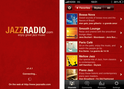 JAZZRADIOの録音がTuneinRadioアプリで出来るのを発見した
