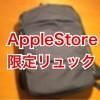AppleStore限定MacBook対応リュックを通勤用に買ってみた