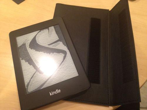 KindlePaperwhite3Gを無印良品ノートカバーで包んだらイイ感じだった