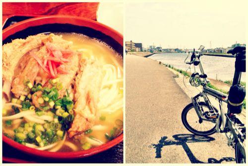鶴見の沖縄そばヤージ小でうちなー気分を満喫しにサイクリング