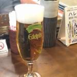 新宿駅構内でエーデルピルスビールがお安く立ち飲みできるBERG